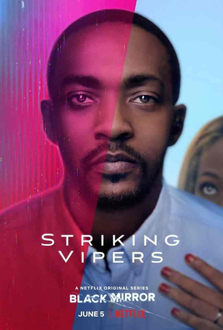 Black Mirror Striking Vipers poster