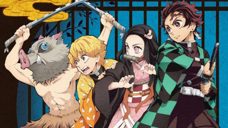 Demon Slayer key art