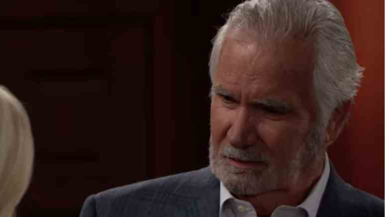 John McCook as Eric Forrester on The Bold and the Beautiful.