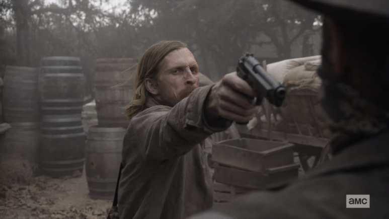 Dwight on Fear the Walking Dead