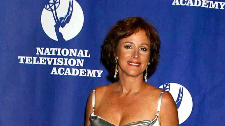 Hillary B. Smith on the red carpet for the Creative Emmys.