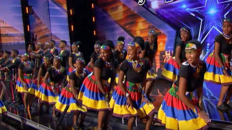 Ndlovu Youth Choir On AGT Season 14
