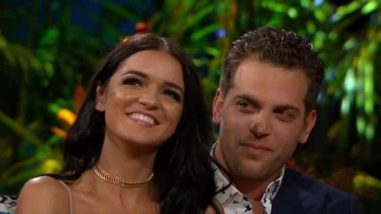 Raven Gates and Adam Gottschalk from Bachelor in Paradise