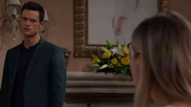 Matthew Atkinson and Katrina Bowden as Thomas and Flo on The Bold and the Beautiful.