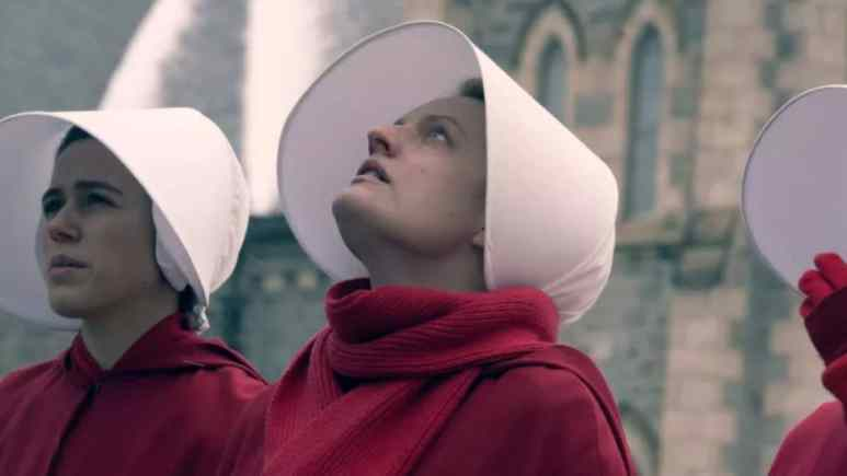 Offred/June has danced around death and certain execution and now is galvanized for change. Pic credit: HULU