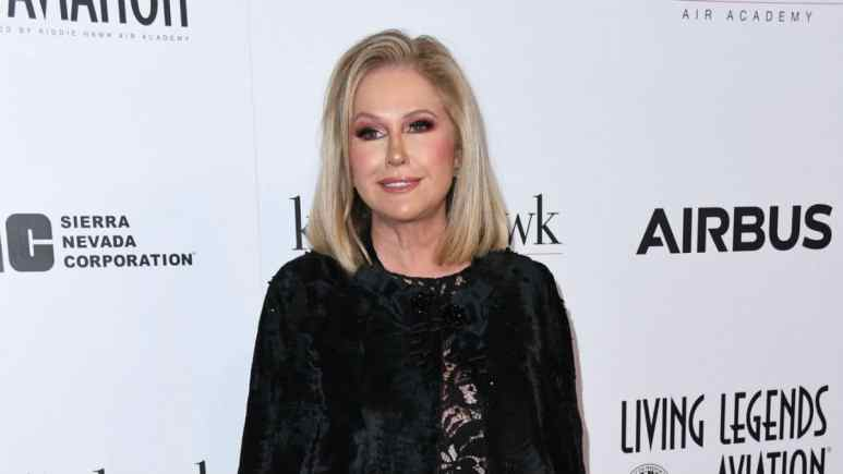 Kathy Hilton at the Living Legends Awards.