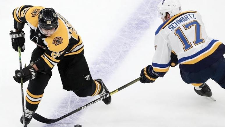 bruins vs blues in 2019 stanley cup finals game