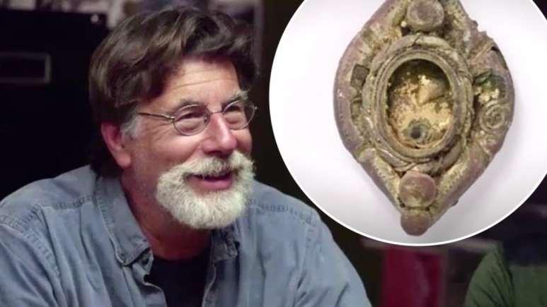 The Curse of Oak Island 2019 treasure update: Rick Lagina and gold brooch