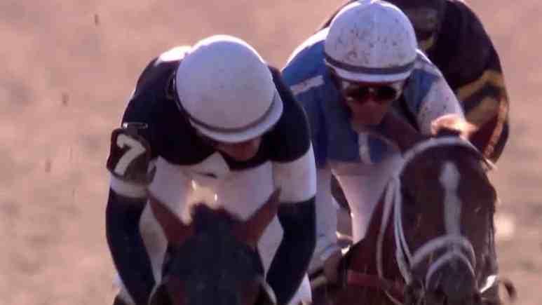 jockey joel rosario with belmont stakes winner sir winston