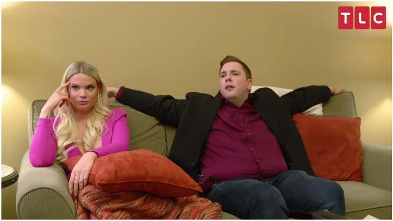 Ashley and Colt at the 90 Day Fiance Happily Ever After Tell All