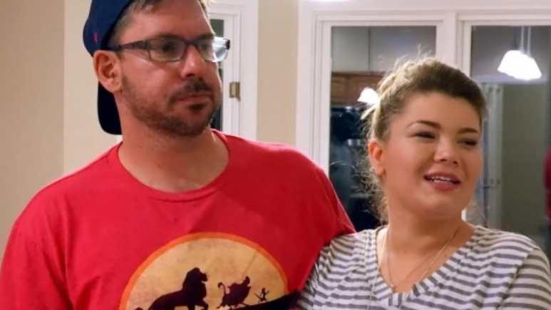 Amber Portwood and Matt Baier on Teen Mom OG