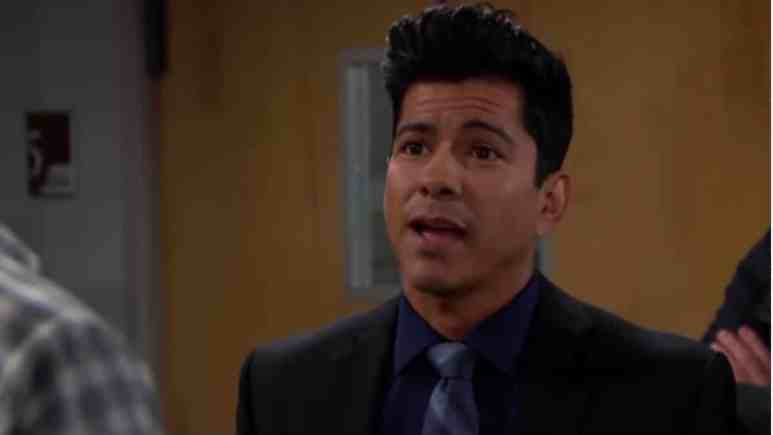 Jeremy Ray Valdez as Detective Sanchez on The Bold and the Beautiful.