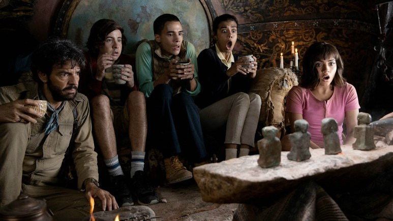 """The cast from """"Dora and the Lost City of Gold."""""""