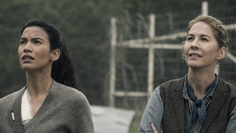 Luciana and June on Fear the Walking Dead