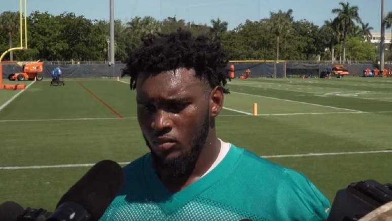 Miami Dolphins Kendrick Norton
