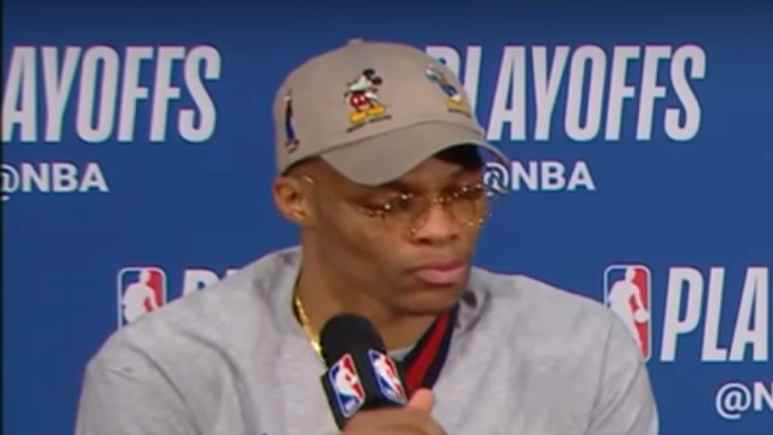 Russell Westbrook Interview