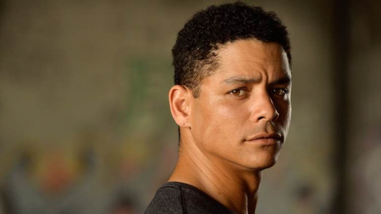 Charlie Barnett who will play John Diggle Jr. in Arrow.