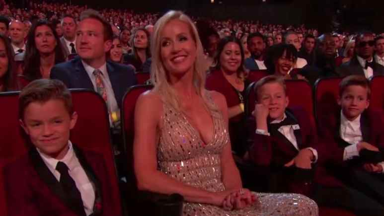drew brees wife brittney and three sons at 2019 espys