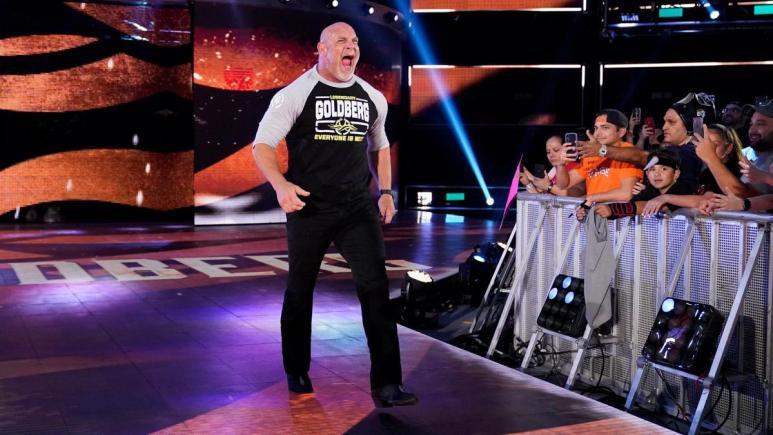 Goldberg makes return to WWE