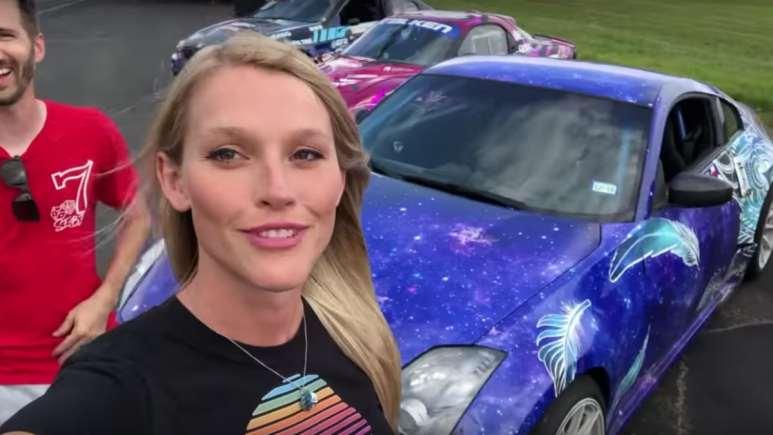 Brittany Williams on Lite Brite Youtube channel