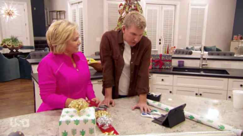 Todd and Julie Chrisley on Chrisley Knows Best.