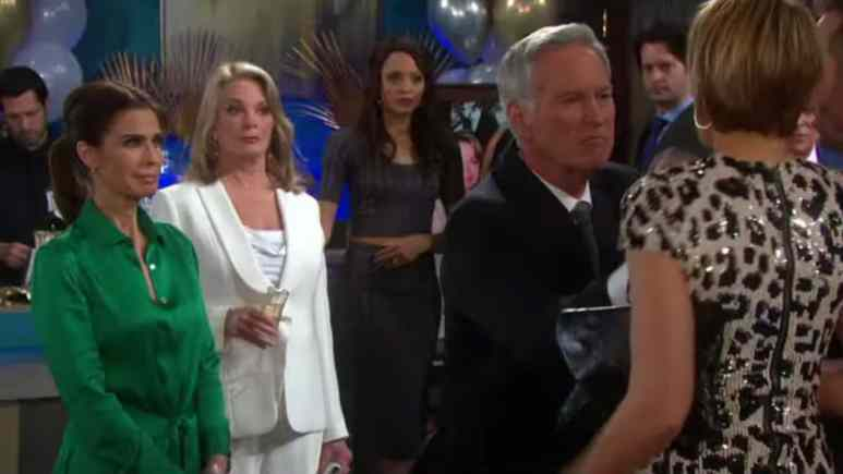 Hope, Marlena, John, and Nicole from Days of our Lives.