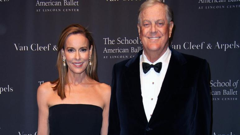 Julia Flesher and David Koch