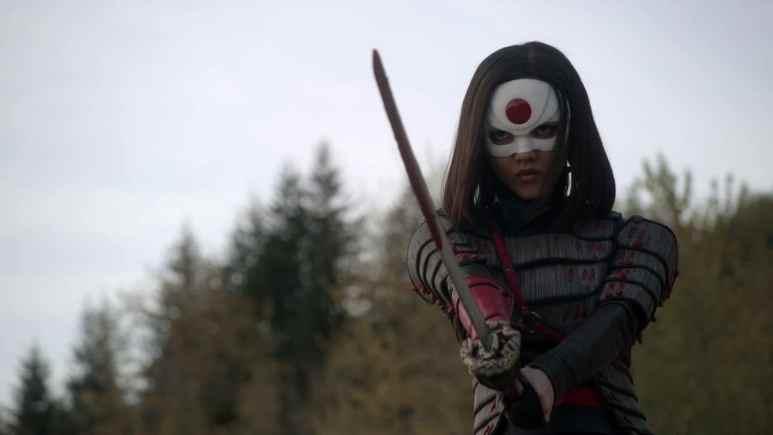 Rila Fukushima as Tatsu Yamashiro/Katana on Arrow