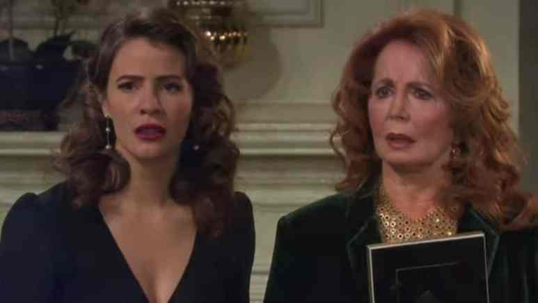 Sarah and Maggie on Days of our Lives.
