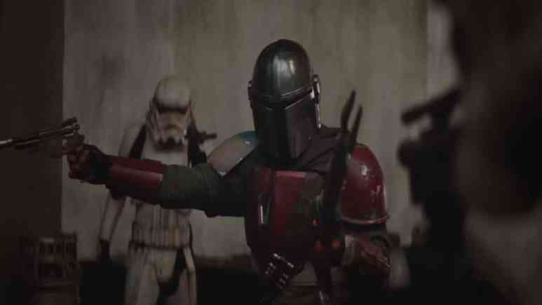 Still from The Mandalorian trailer. Pic credit: Lucasfilm.