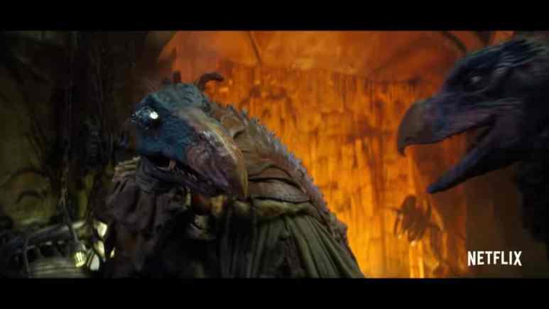 Skeksis characer from The Dark Crystal Age of Resistance
