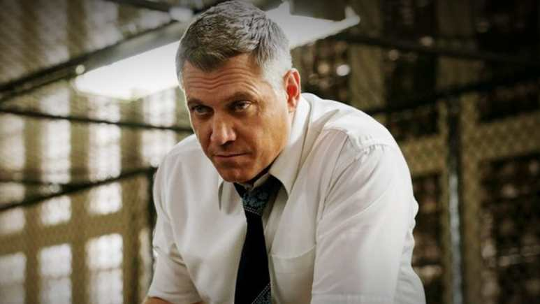 McCallany shines as the FBI agent trying to keep a work home balance constantly. Pic credit: Netflix