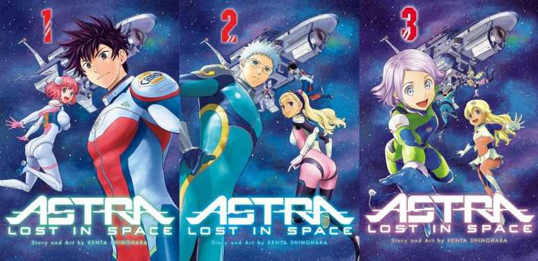Astra Lost In Space Manga Cover Art