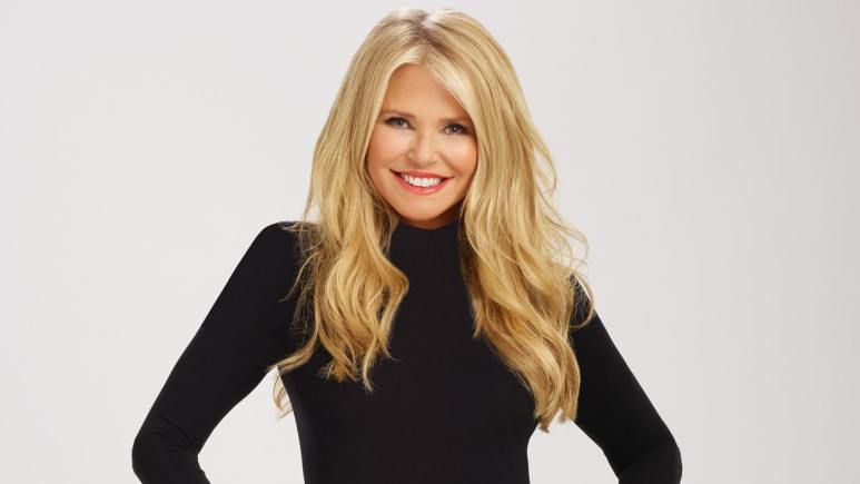 Christie Brinkley in her promo photo for Dancing with the Stars
