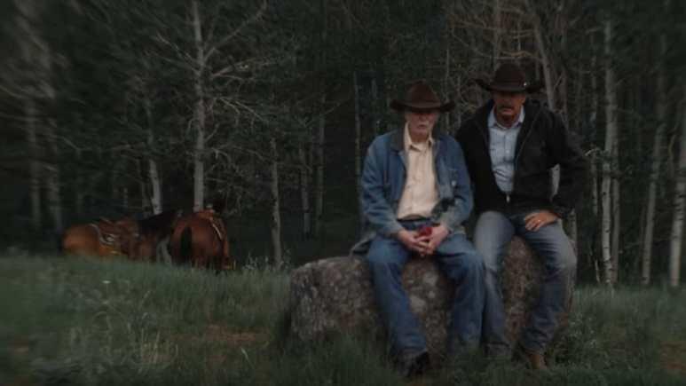 Dabney Coleman as John Dutton's father in Yellowstone Season 2 finale