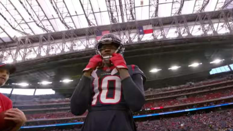 DeAndre Hopkins With Texans