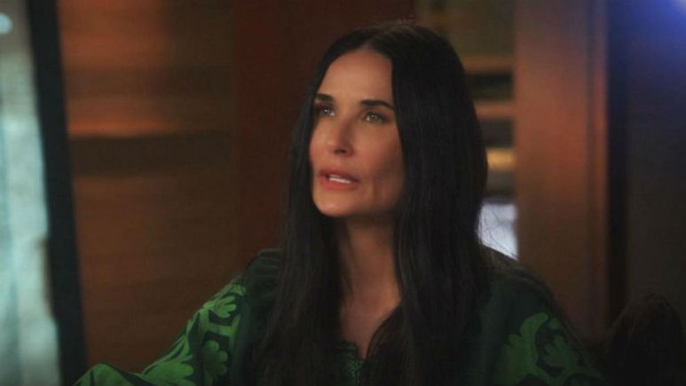 Diane Swayer sits down with Demi Moore on Good Morning America.