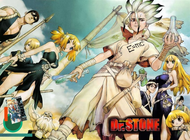Dr. STONE Manga Characters