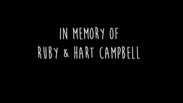 In Memory of Ruby and Hart Campbell