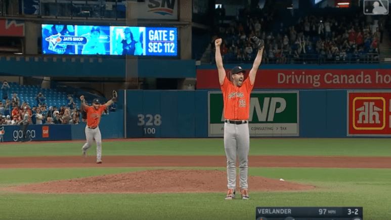 Justin Verlander gets his third no hitter