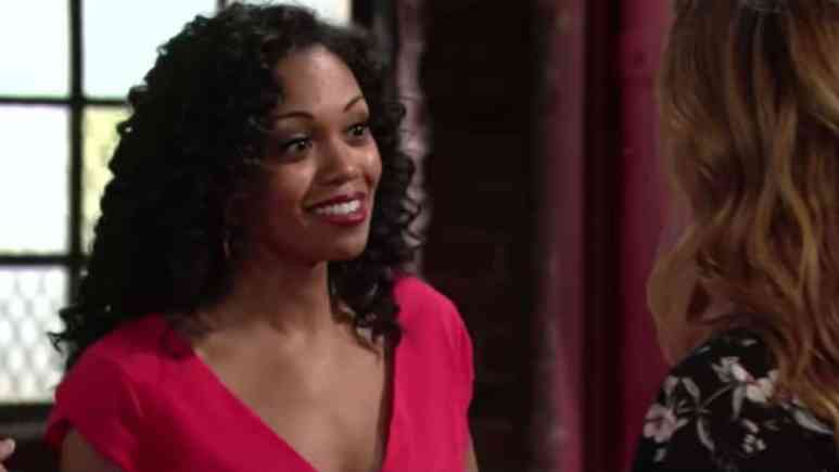 Mishael Morgan on The Young and the Restless.