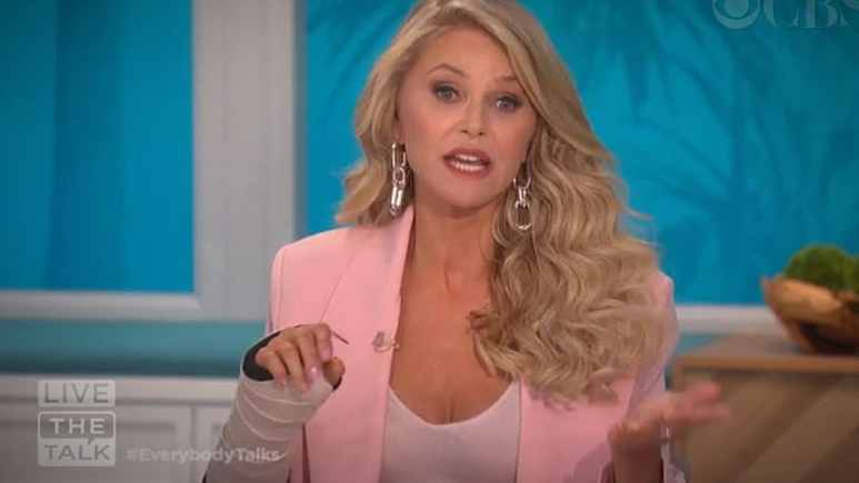 Christie Brinkley was really hurt in her fall, and Wendy Williams got another earful today from The Talk