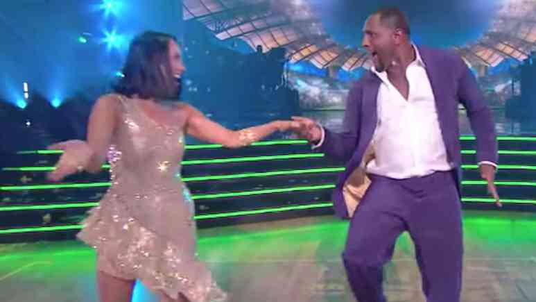 cheryl burke and ray lewis on dancing with the stars season 28