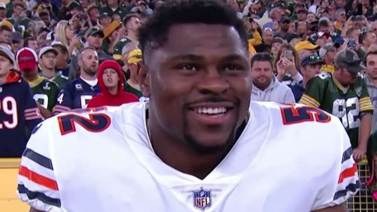 khalil mack and the chicago bears host the packers to start the 2019 nfl season