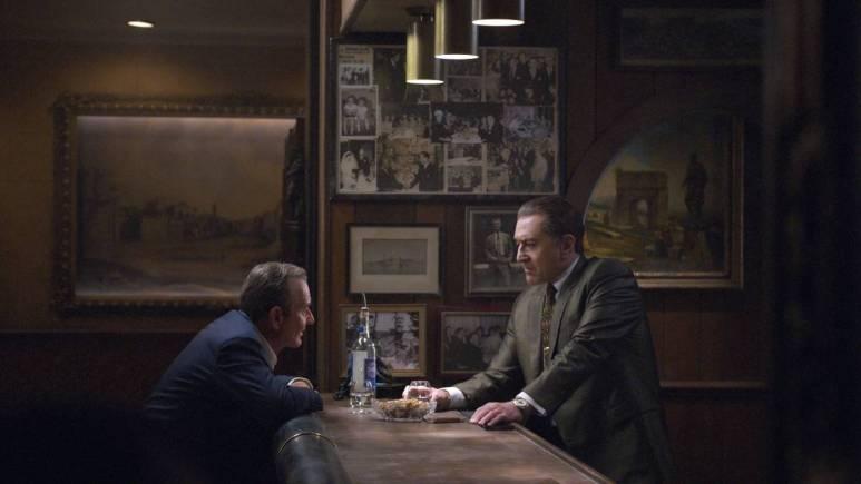 Robert De Niro and Al Pacino in The Irishman