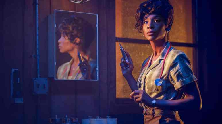 Angelica Ross as Donna, promotional image for American Horror Story, AHS 1984