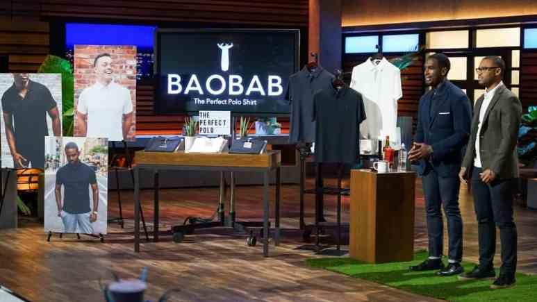 Baobab polo shirts on Shark Tank