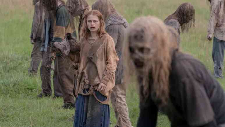 Frances and Alpha, as seen in Episode 2 of AMC's 'The Walking Dead' Season 10