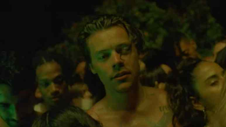Harry Styles in Lights Up music video