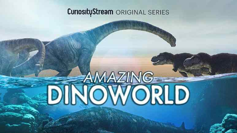 Make sure to get this in front of the kids, CuriosityStream AmazingDinoworld will reveal new never before taught information. Pic credit: CuriosityStream
